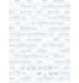 White Tiles Background vector image