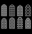 traditional arabic window vector image