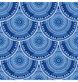 Seamless pattern with ethnic motif vector image