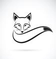 Fox design vector image