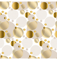 repeatable motif for festive wrapping paper vector image