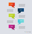 Timeline Infographic Design Templates Diagrams and vector image