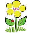 Daisy Bug vector image vector image