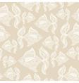 fish pattern monochrome vector image
