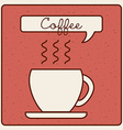 coffee icon vector image