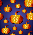 Halloween seamless pattern background EPS10 file vector image