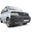 Germany light commercial vehicle vector image vector image