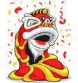 Chinese New Year Lion vector image