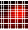 red brown black rounded mosaic background over vector image