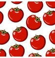 red ripe tomato vector image