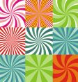 Radiant backgrounds vector image vector image