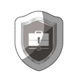 Business briefcase accesorie vector image
