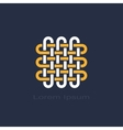 knot symbol vector image