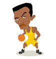 Basketball Player vector image