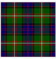 Clan Donald Tartan Plaid Pattern Seamless Design vector image