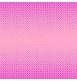 Pink Halftone Patterns vector image