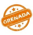 Grenada grunge icon vector image