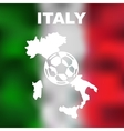 Italian Abstract Map vector image