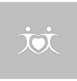 Love Heart Icon vector image