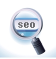 Search engine optimization concept vector image vector image
