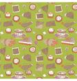 sweet wallpaper vector image vector image