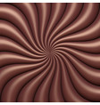abstract chocolate swirl background vector image