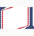 America template vector image