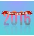 Happy new 2016 year vector image
