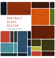 block template vector image vector image