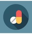 Medicine Tablets Icon vector image