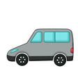 minivan icon cartoon style vector image