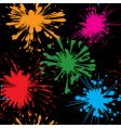 splash background seamless vector image vector image