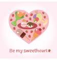 Sweetheart vector image