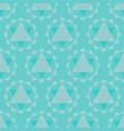 ethnic chakras geometric seamless pattern vector image
