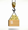 money crane vector image
