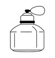 women perfume bottle icon vector image