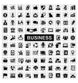business web vector image