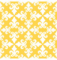 yellow french ornamental ceramic tile vector image