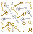 old keys icon stock vector image