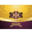 Purple Decorative Background8 vector image