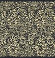 seamless floral background vintage pattern vector image