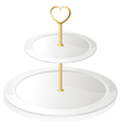 A cupcake tray vector image vector image