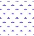 Hat pattern cartoon style vector image