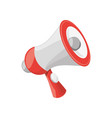 isolated cute megaphone vector image