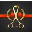 Scissors Barber Concept vector image