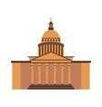 White house washington DC United States landmark vector image