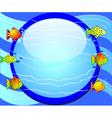 Fish Aquarium Background vector image