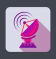 parabolic antenna concept background cartoon vector image