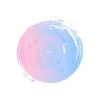 Rose quartz and serenity circle vector image