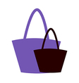 Two hand Bags vector image